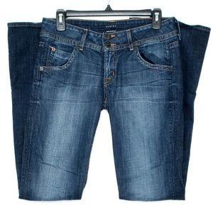 Hudson Womens Jeans Bootcut Blue 28 CB